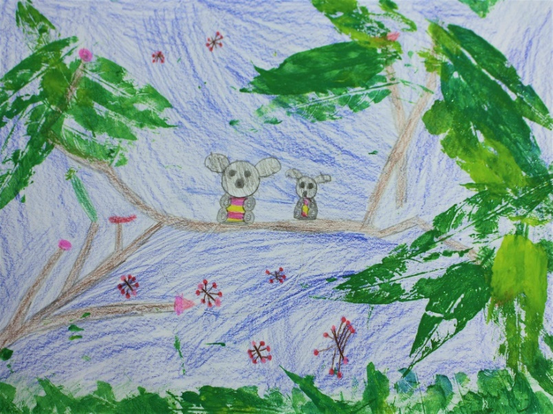 Student artwork   Koalas